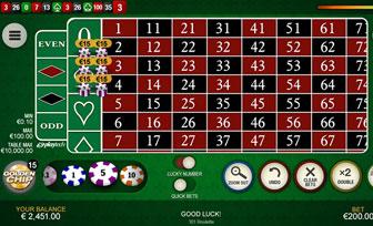 Roulette board 666