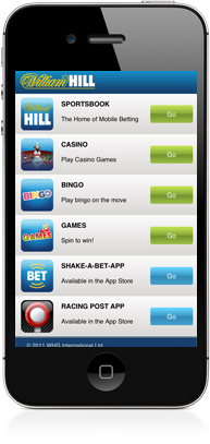 william hill download the app