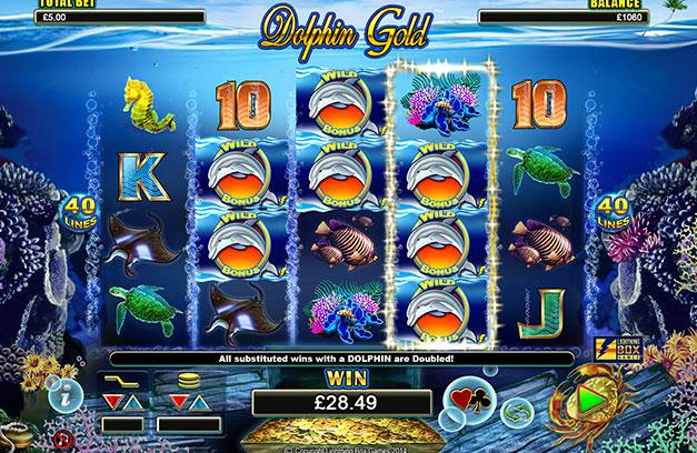 автоматы онлайн dolphins игровые