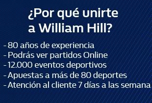 Abre tu cuenta ahora en William Hill