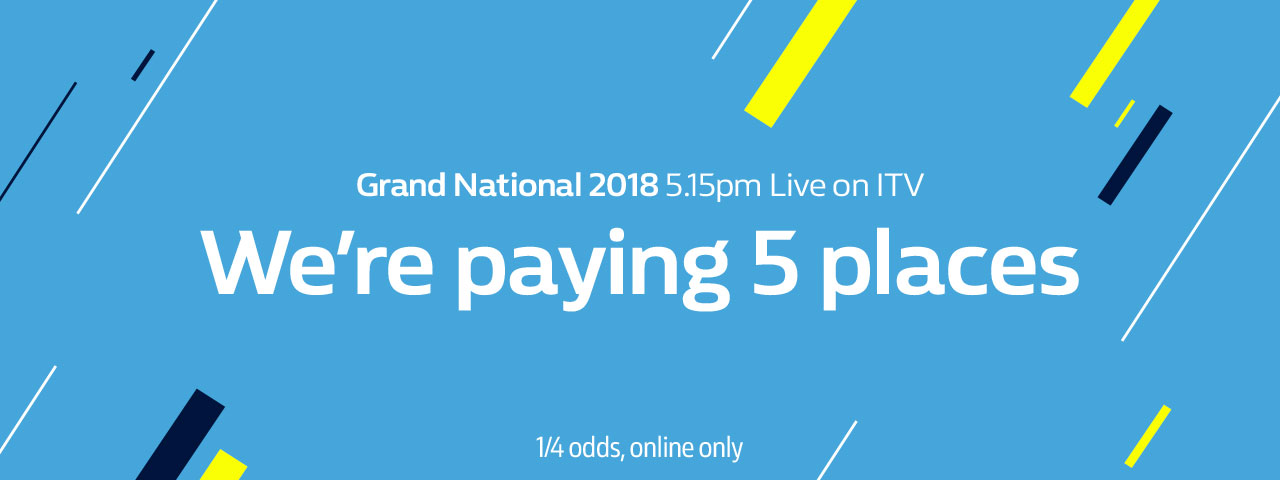 Grand national betting 5 places xslayder betting sites