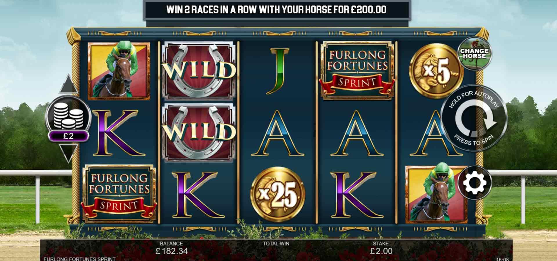Spiele Furlong Fortunes Sprint - Video Slots Online