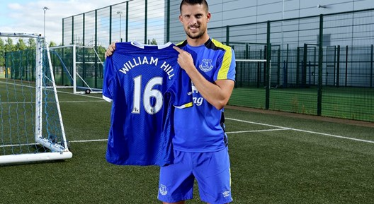William Hill Agree 2 year Partnership with Everton!