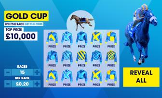 William Hill Gold Cup Scratch Card