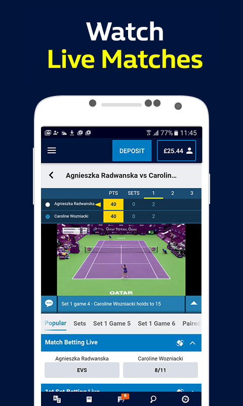 William hill sports betting app android eurovision 2021 betting bwin casino