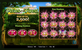 Pixies of the Forest Instant Win